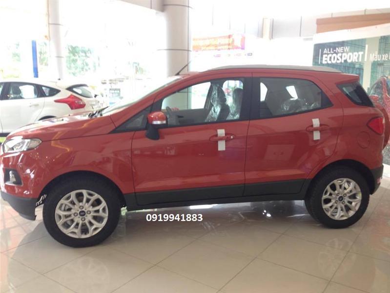 Bán Ford EcoSport titanium đời 2015, màu đỏ, giá chỉ 640 triệu