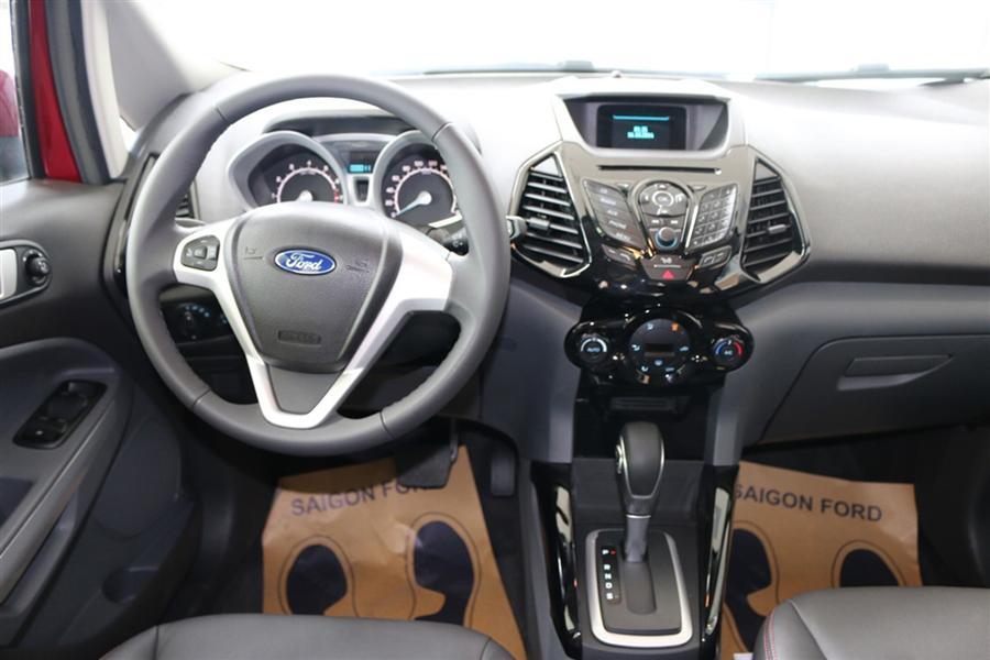 Cần bán gấp Ford EcoSport Titanium năm 2015, màu trắng