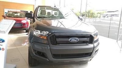 Bán xe Ford Ranger XLS AT đời 2016, màu xám, nhập khẩu nguyên chiếc