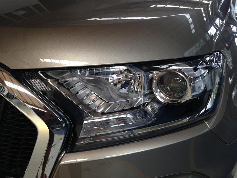 Xe Ford Ranger XLT 4 x 4, 2.2L đời 2017, màu xám, xe nhập, giá chỉ 715 triệu