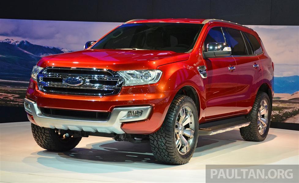 Ford Everest đời 2018, màu đỏ, xe nhập ,999