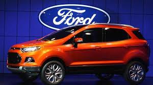 Bán ô tô Ford EcoSport Titanium đời 2015, màu xanh lam