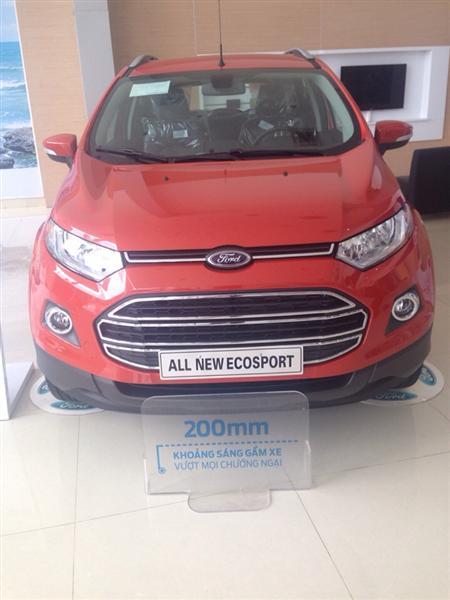 Bán ô tô Ford EcoSport Titanium đời 2015, màu đỏ, giá tốt gọi ngay 0903037939