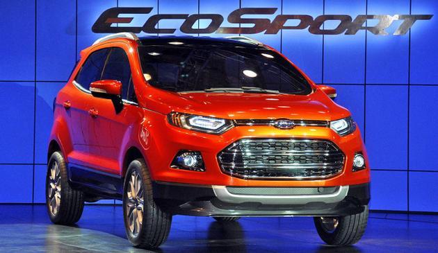 Cần bán xe Ford EcoSport 1.5L AT đời 2019, ,màu cam đỏ, giá chỉ 593triệu