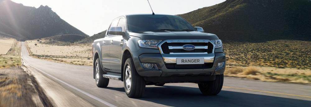 Bán Ford Ranger đời 2019, màu trắng, nhập khẩu chính hãng,