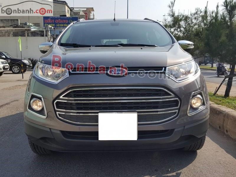 Bán Ford EcoSport 1.5L Titanium đời 2014, màu nâu