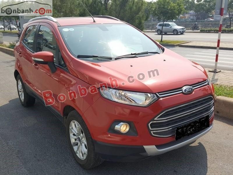 Saigon Ford bán Ford EcoSport 1.5L Titanium đời 2014, màu đỏ