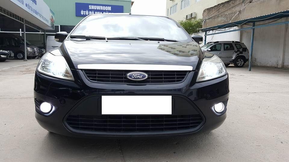 Bán xe cũ Ford Focus 1.8L đời 2010, màu đen, giá tốt