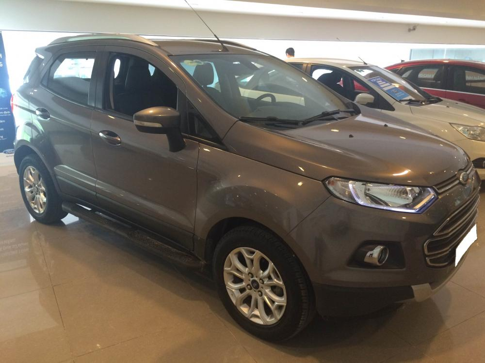 Cần bán xe Ford EcoSport 1.5L Titanium năm 2014, màu xám (ghi)