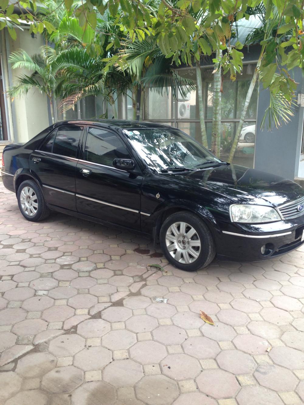 bán xe ford laser 1.8at đời 2004, màu đen, nhập khẩu, chính chủ