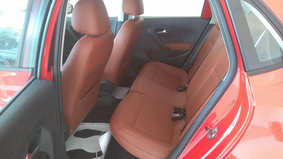 Volkswagen Polo Hatchback 1.6 AT đời 2015, màu đỏ, xe nhập, giá chỉ 662 triệu