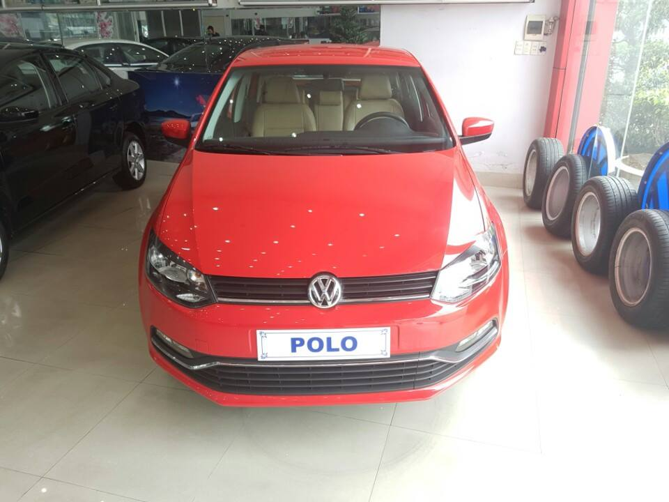 Volkswagen Polo Hatchback AT đời 2015, màu đỏ, nhập khẩu, giá 662tr