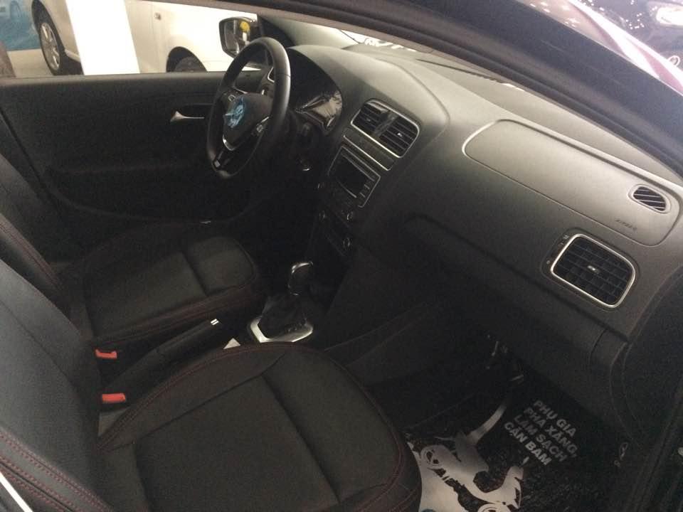 Volkswagen Polo Sedan AT đời 2015, màu đen, nhập khẩu chính hãng, 632 triệu