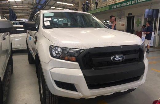 Giá xe Ford Ranger giá rẻ nhất phiên bản XL 4x4 MT, Hỗ trợ trả góp 80% tại Nam Định và tặng phụ kiện
