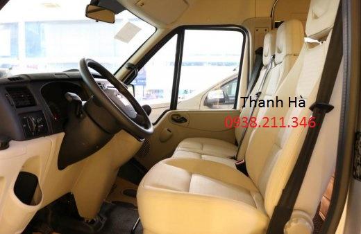 Ford Transit  ( mâm đúc, ghế da, la phong, lót sàn, hộp đen,... ) Hotline 0938.211.346