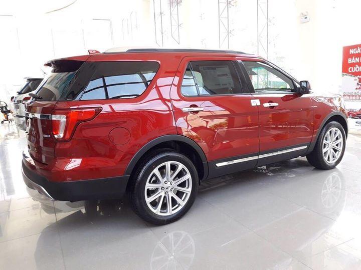 Xe Ford Explorer 2019, màu đỏ, nhập khẩu chính hãng