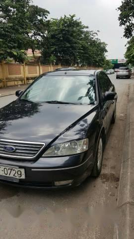 Bán lại xe Ford Mondeo 2.5L đời 2004, màu đen