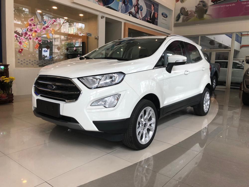 Bán Ford EcoSport 2019, , trả trước 130tr giao ngay