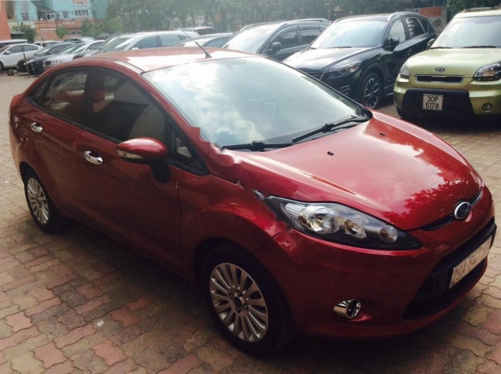 Cần bán gấp Ford Fiesta S sản xuất năm 2012, màu đỏ, 355 triệu
