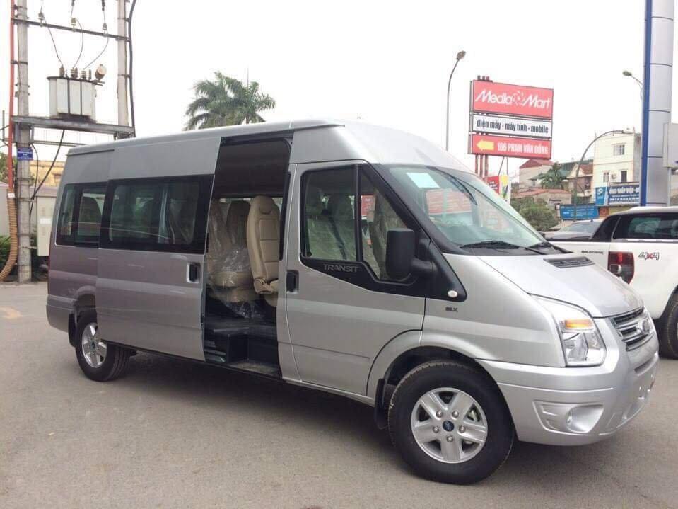 Bán ô tô Ford Transit bản SVP đời 2018 - hỗ trợ trả góp và giao xe tại Bắc Giang