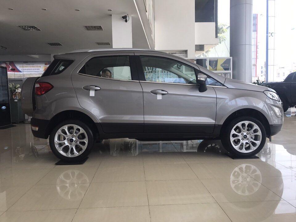 Giao ngay ô tô Ford EcoSport Titanium 1.5L đời 2018, màu xám giá cạnh tranh, hỗ trợ trả góp 80%