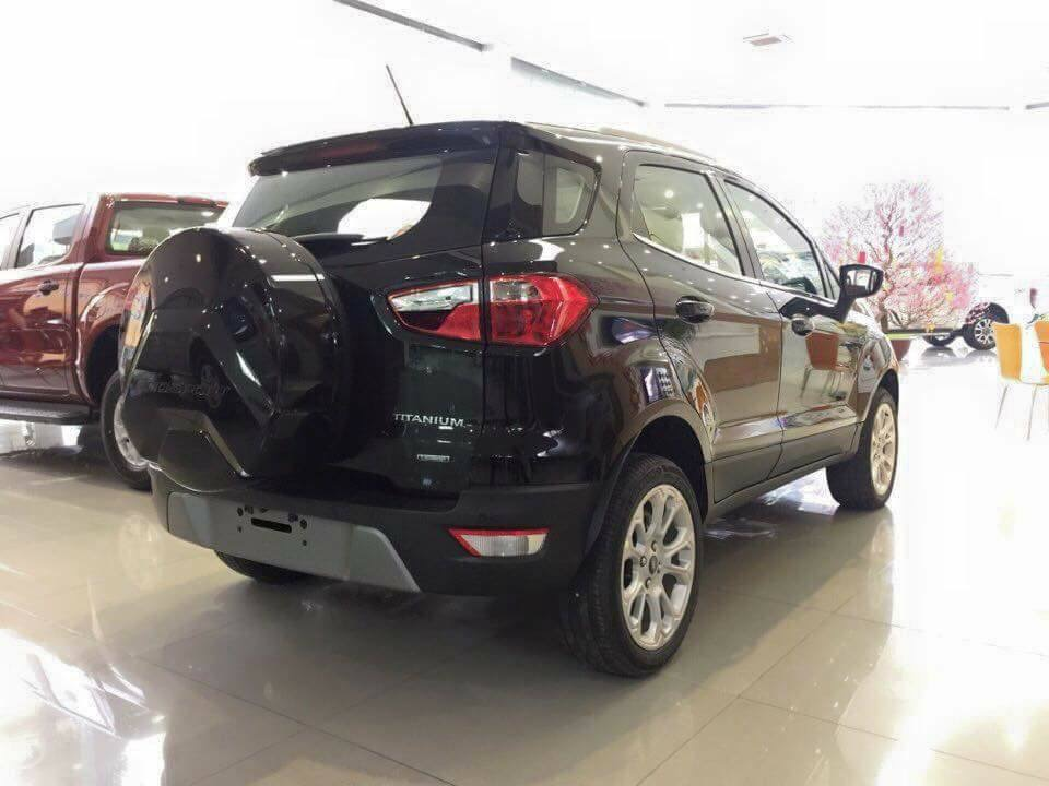 Giao ngay Ford Ecosport Titanium 1.5L màu đen đời 2018, hỗ trợ trả góp 80%, giá cả thương lượng tại Ford An Đô