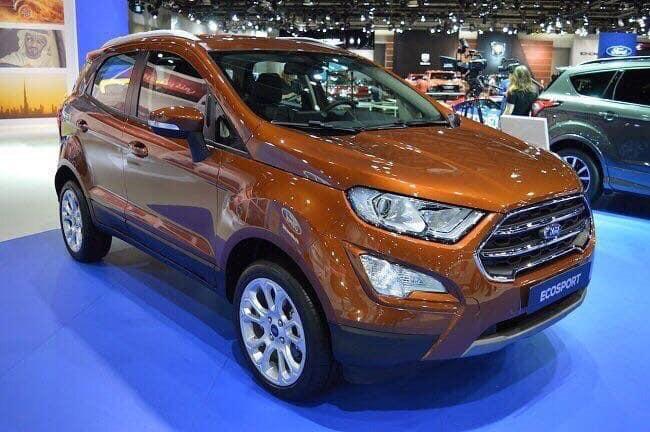 Bán xe Ford EcoSport Titanium 1.5L đời 2018, màu đồng, giá tốt có thể thương lượng, hỗ trợ trả góp