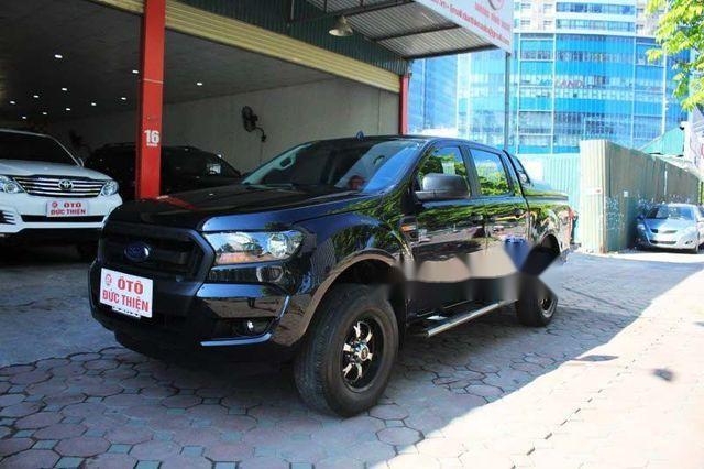 Cần bán lại xe Ford Ranger XL 4x4MT sản xuất 2015, màu đen, giá chỉ 565 triệu