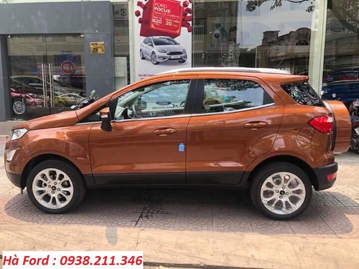 Cần bán xe Ford EcoSport sản xuất 2020, giá chỉ từ 510 triệu, chương trình ưu đãi, lãi suất thấp, giao xe ngay