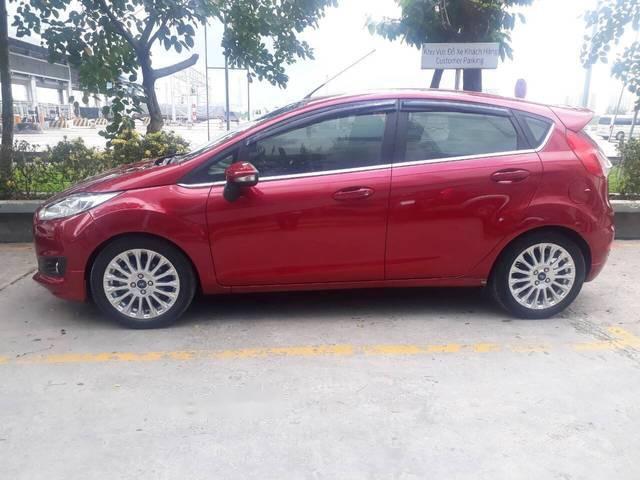 Bán Ford Fiesta 1.0 Ecoboost Sport đời 2014, màu đỏ
