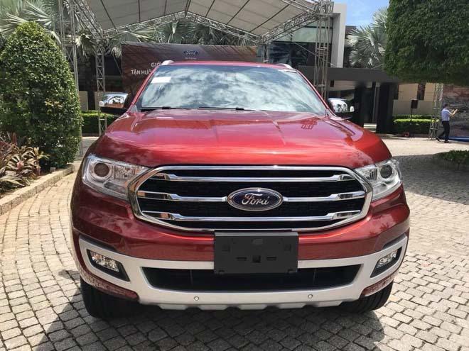 Xe Ford Everest 2019, nhập khẩu chính hãng giá cạnh tranh