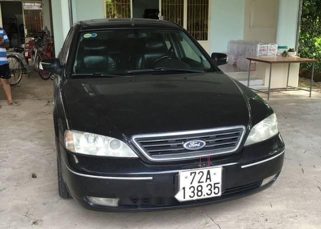 Bán Ford Mondeo 2.5 V6 sản xuất 2003, màu đen số tự động