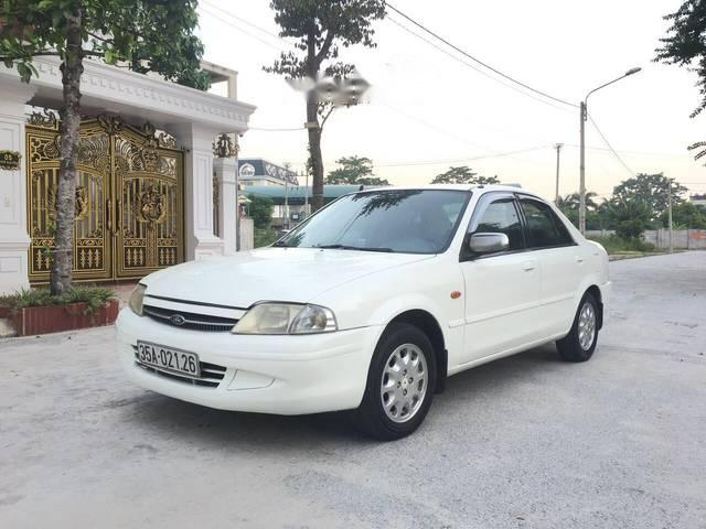 Bán ô tô Ford Laser 1.6MT đời 2000, màu trắng