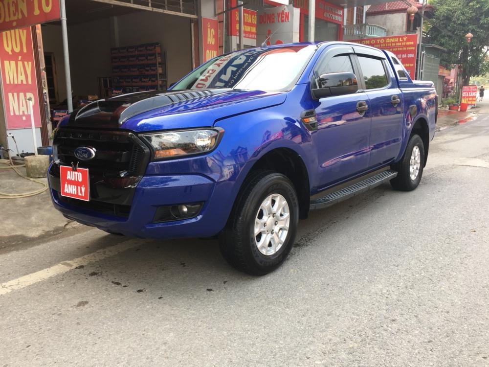 Cần bán xe Ford Ranger 2.2MT đời 2015, màu xanh lam, nhập khẩu