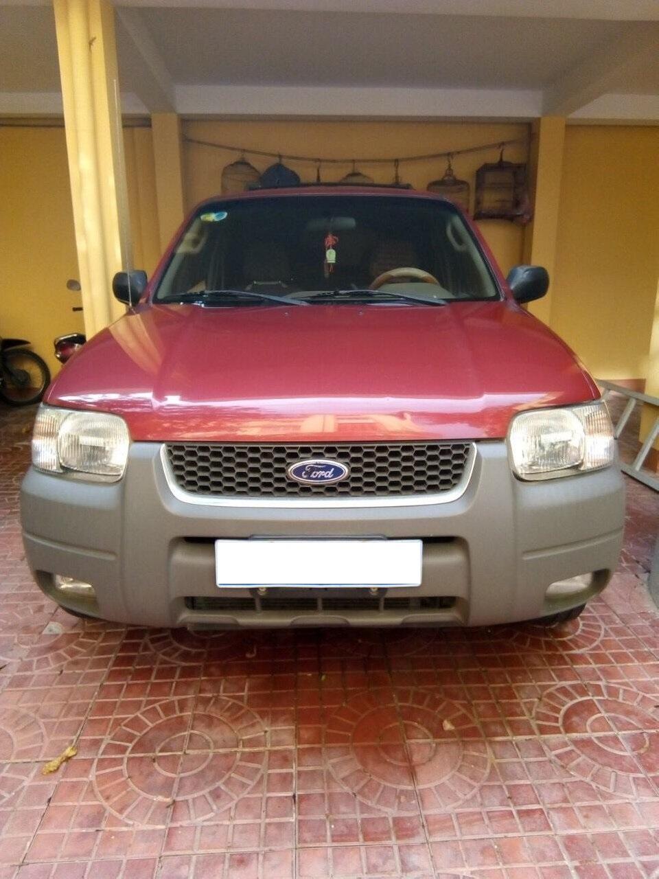 Bán xe Ford Escape XLT năm 2003, màu đỏ