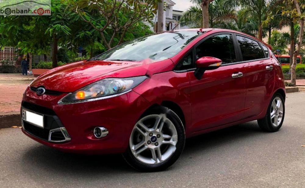 Cần bán xe Fiesta S, xe đời cuối 2012, Bs Sài Gòn cá nhân chính chủ