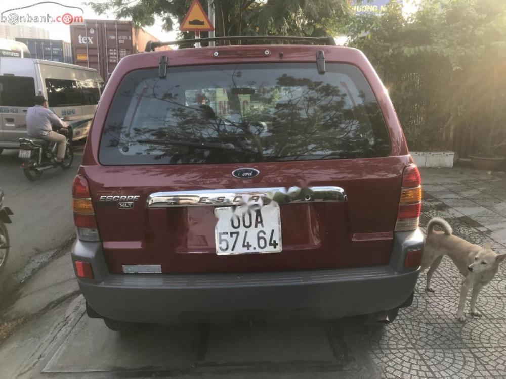 Bán Ford Escape 2003 tự động XLT, bản full, ghế da zin theo xe
