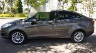 Cần bán Ford Fiesta 1.5 AT Titanium 2014, màu xám, giá 385tr