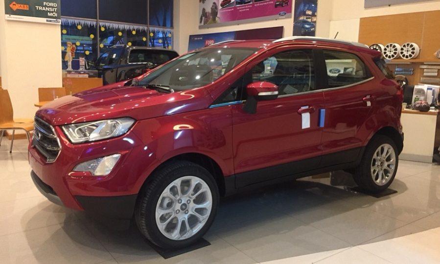 Bán Ford EcoSport 1.0L Ecooost năm 2019, màu đỏ