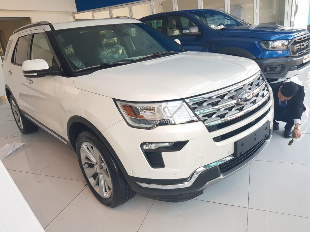 Ford Explorer đời 2019, nhập khẩu, trả trước 10%