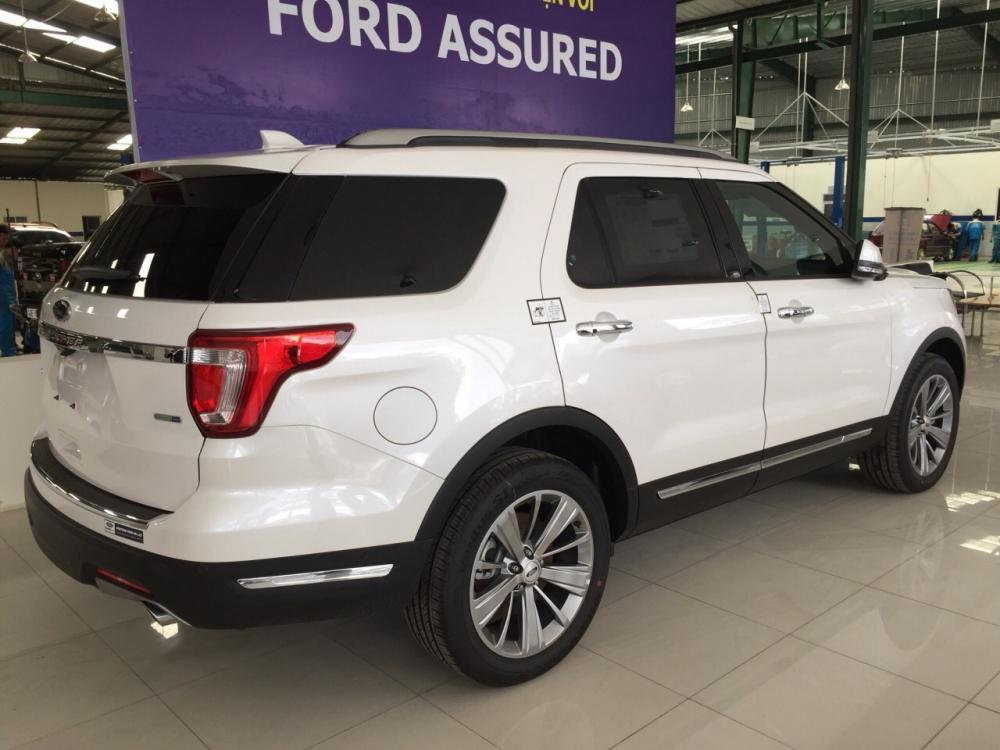 Ford Explorer 2019, trả trước 10%, giao ngay