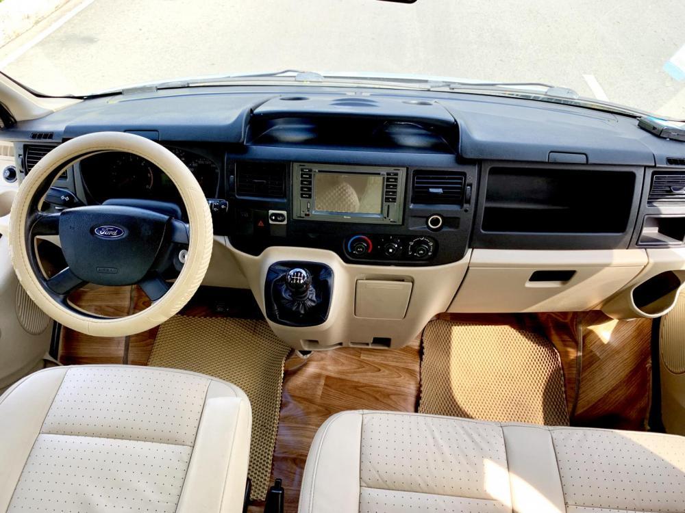 Transit Luxury Đk 2014 loại cao cấp 16 chỗ, xe nhà xài kĩ không chạy kinh doanh