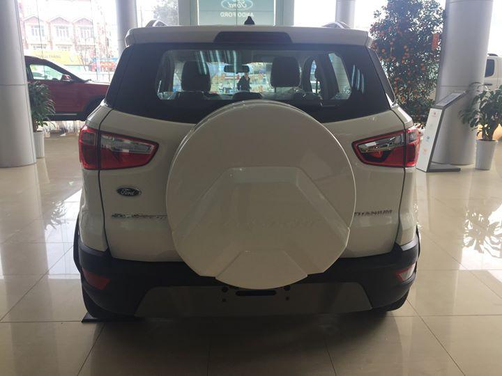 Cần bán xe Ford EcoSport Trend đời 2019, màu trắng