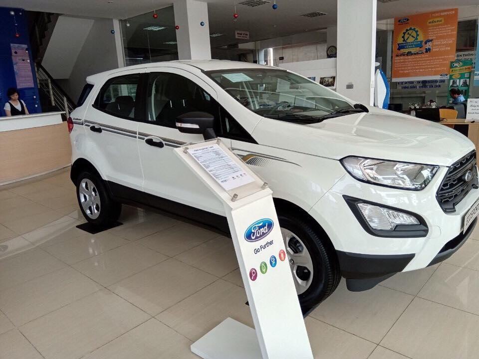 Xe giá tốt Ford Ecosport Trend AT đời 2019, đủ màu, giao ngay, xe nhập, 555 triệu, trả góp 80%, 0799 526 689
