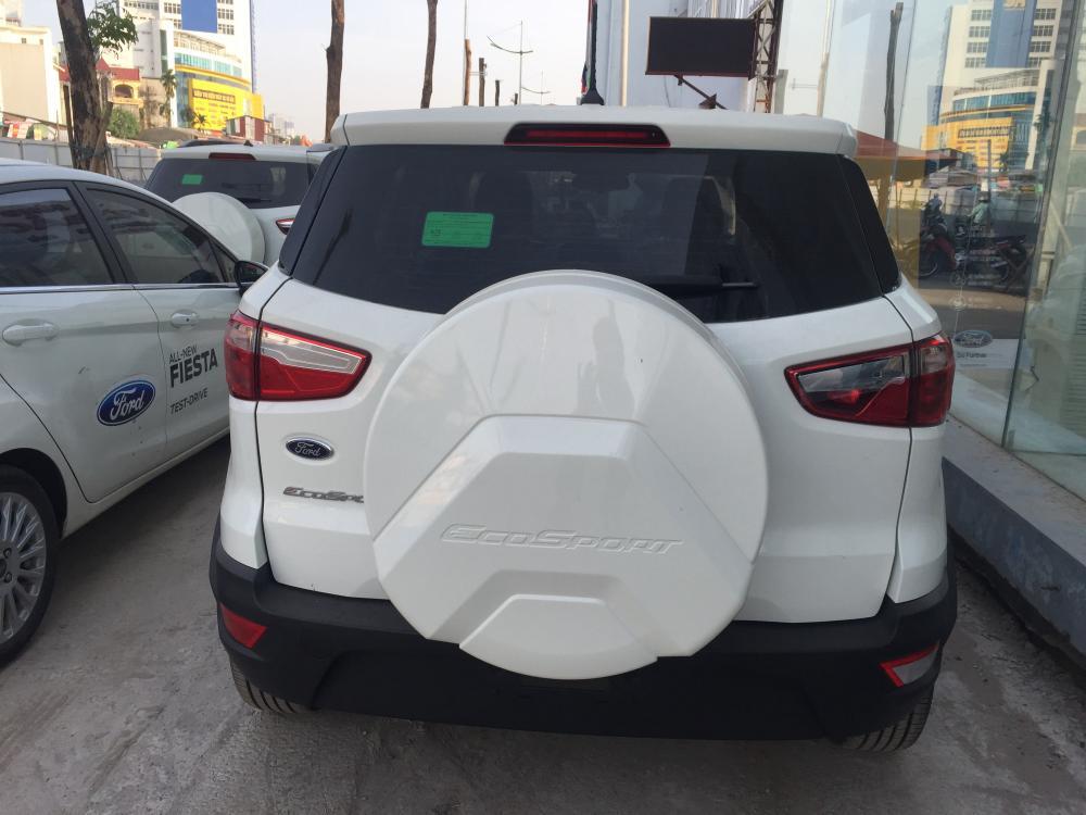 Bán xe Ford EcoSport Ambiente AT 4x2 đời 2019, màu trắng