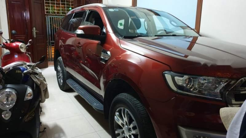 Bán Ford Everest năm sản xuất 2016, màu đỏ, nhập khẩu Thái
