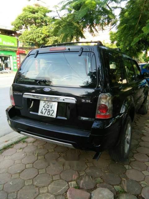 Bán Ford Escape 2.3L năm 2004, màu đen, nhập khẩu nguyên chiếc