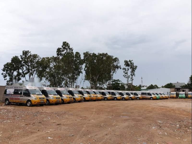 Công ty Toàn Thắng Vũng Tàu thanh lý lô xe Ford Transit 2014 giá từ 340tr