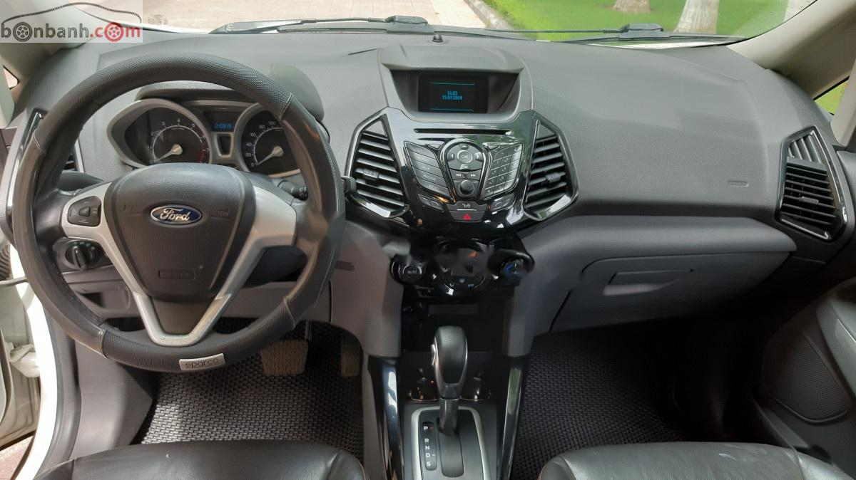Bán Ford EcoSport Titanium đời 2015, màu trắng