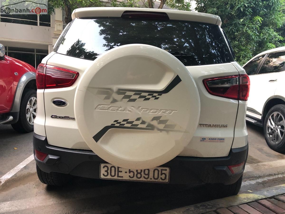 Bán Ford EcoSport sản xuất năm 2016, màu trắng xe gia đình, giá 520tr